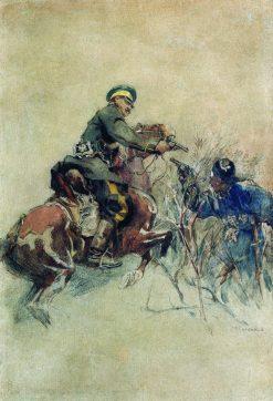 The Rider | Nikolai Samokish | Oil Painting