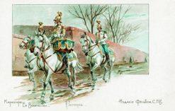 Her Majestys Cuirassiers | Nikolai Samokish | Oil Painting