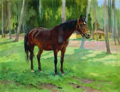 A Horse | Nikolai Samokish | Oil Painting