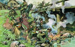 Hussars | Nikolai Samokish | Oil Painting