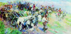Cossacks in Crimea | Nikolai Samokish | Oil Painting