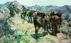 Cossacks | Nikolai Samokish | Oil Painting