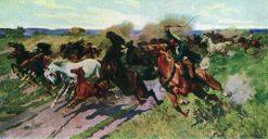 Horses | Nikolai Samokish | Oil Painting
