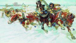 Troika | Nikolai Samokish | Oil Painting