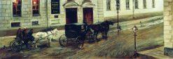 A Street | Nikolai Samokish | Oil Painting