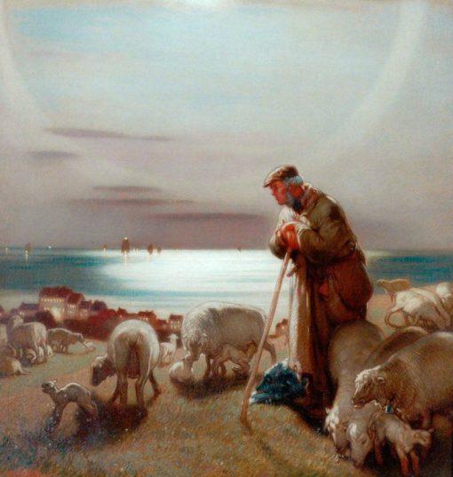 The Shepherd | William Shackleton | Oil Painting