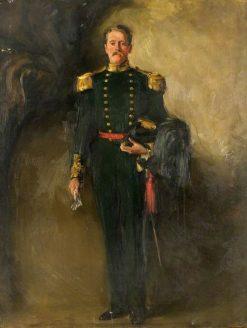A Man in the Green Uniform of the Scottish Archers | William Bruce Ellis Ranken | Oil Painting