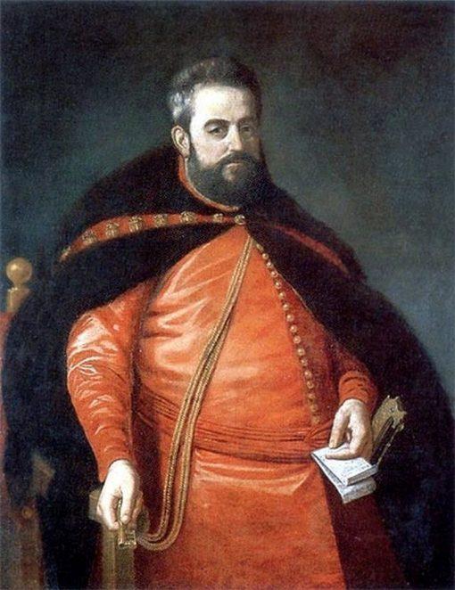 Portrait of Court Chamberlain Adam Kazanowski | Peter Danckerts de Rij | Oil Painting