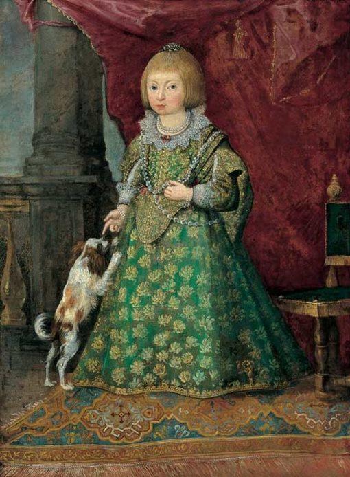 Unknown Polish Princess of the Vasa dynasty in Spanish costume | Peter Danckerts de Rij | Oil Painting