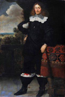 Portrait of a Man | Peter Danckerts de Rij | Oil Painting