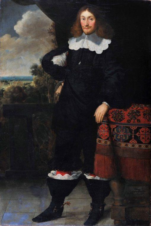 Portrait of a Man   Peter Danckerts de Rij   Oil Painting