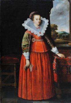 Portrait of a Lady | Peter Danckerts de Rij | Oil Painting