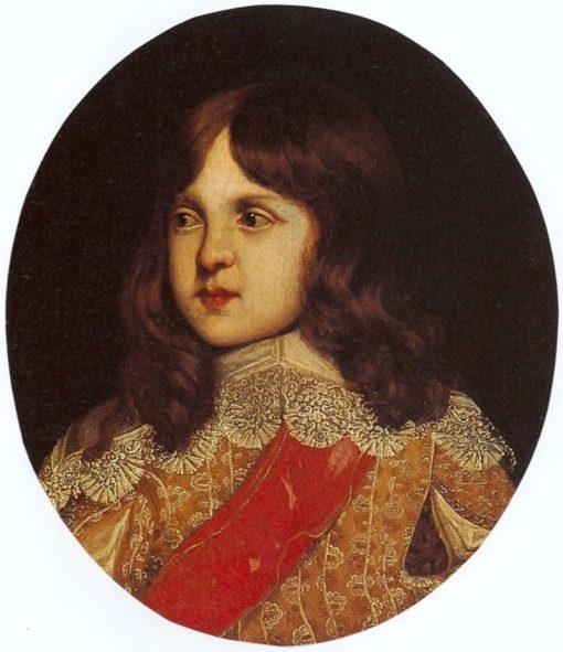 Portrait of Prince Sigismund Casimir Vasa   Peter Danckerts de Rij   Oil Painting