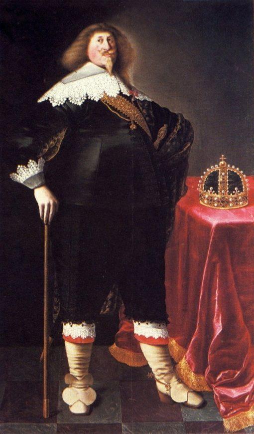 Portrait of King W?adys?aw IV Vasa | Peter Danckerts de Rij | Oil Painting