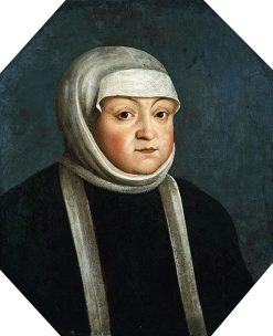 Portrait of Bona Sforza | Peter Danckerts de Rij | Oil Painting