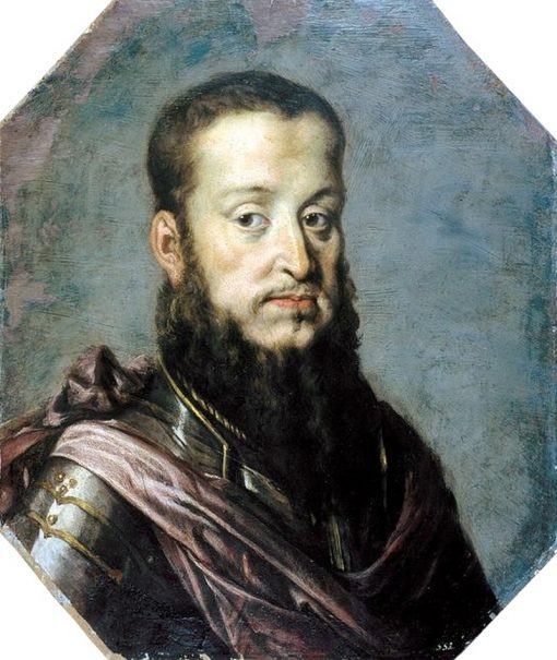Portrait of Sigismund Augustus   Peter Danckerts de Rij   Oil Painting