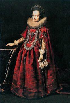 Portrait of Anne Catherine Constance Vasa | Peter Danckerts de Rij | Oil Painting