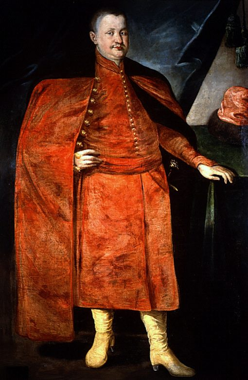 Portrait of W?adys?aw Dominik Zas?awski-Ostrogski in Polish costume | Peter Danckerts de Rij | Oil Painting