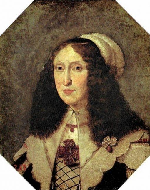 Portrait of Cecilia Renata of Austria   Peter Danckerts de Rij   Oil Painting