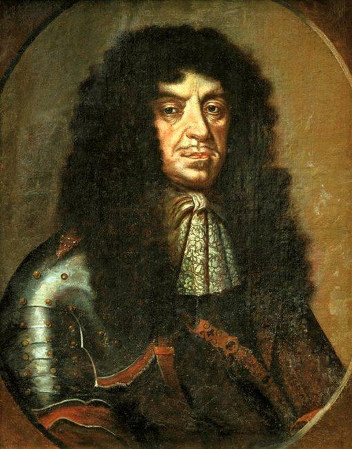 Portrait of John Casimir Vasa   Peter Danckerts de Rij   Oil Painting