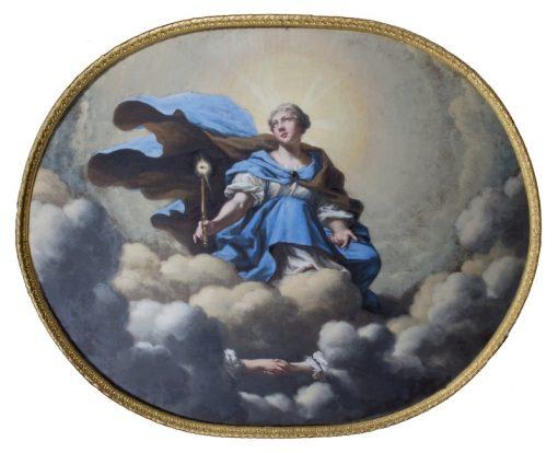 Allegory of King Charles X Gustafs Marriage   David Klocker Ehrenstrahl   Oil Painting