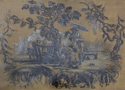 Chinoiserie | William Bruce Ellis Ranken | Oil Painting
