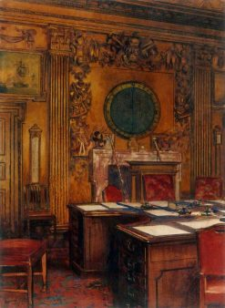 Board Room of the Admiralty | William Bruce Ellis Ranken | Oil Painting