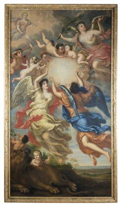 Allegory of King Charles XI and Queen Ulrika Eleonora | David Klocker Ehrenstrahl | Oil Painting