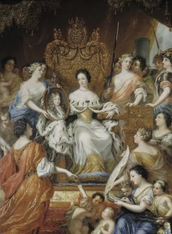 Allegory of Queen Ulrika Eleonoras Regency | David Klocker Ehrenstrahl | Oil Painting