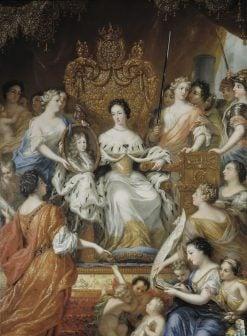 Allegory of Queen Ulrika Eleonoras Regency | David Klocker Ehrenstrahl | Oil Painting