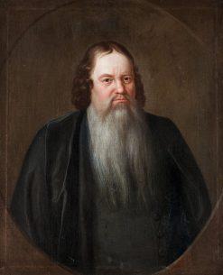 Bishop Carolus Carlsson | David Klocker Ehrenstrahl | Oil Painting
