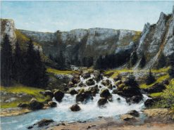 Mountain River | Cherubino Pata | Oil Painting