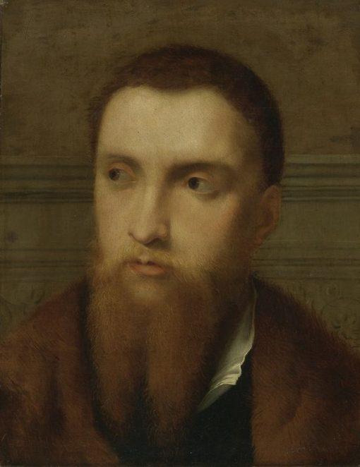 Portrait of a Bearded Man | Paris Bordone | Oil Painting