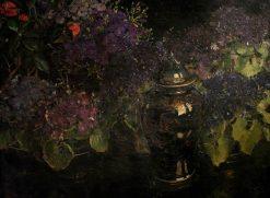 Cinerarias | William Bruce Ellis Ranken | Oil Painting