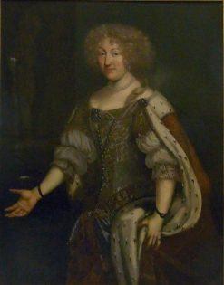 Duchess Magdalena Sibylla von Wurttemberg | David Klocker Ehrenstrahl | Oil Painting