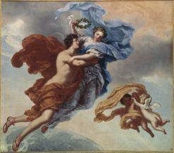 Allegory of Virtue | David Klocker Ehrenstrahl | Oil Painting