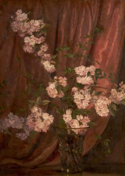 Double Japanese Cherry | William Bruce Ellis Ranken | Oil Painting