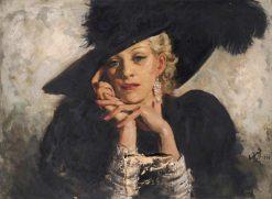 Fine Feathers | William Bruce Ellis Ranken | Oil Painting