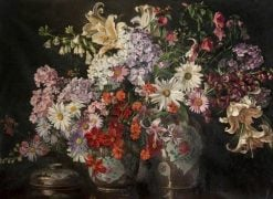 Flower Piece | William Bruce Ellis Ranken | Oil Painting