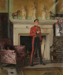 Hall at Warbrook | William Bruce Ellis Ranken | Oil Painting