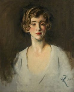 Head of a Young Woman | William Bruce Ellis Ranken | Oil Painting