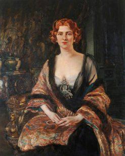 Lady DErlanger | William Bruce Ellis Ranken | Oil Painting