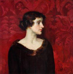 Lady in Brown | William Bruce Ellis Ranken | Oil Painting