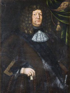 Gustaf Evertsson Horn af Marienborg | David Klocker Ehrenstrahl | Oil Painting