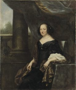 Countess Beata de la Gardie | David Klocker Ehrenstrahl | Oil Painting