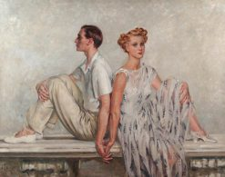 Mr and Mrs John V. Templeton | William Bruce Ellis Ranken | Oil Painting