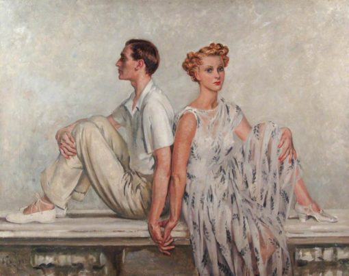 Mr and Mrs John V. Templeton | William Bruce Ellis Ranken | Oil Painting