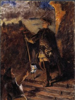 November 30 (sketch) | Gustaf Cederstrom | Oil Painting