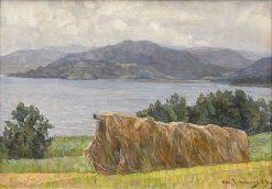 Kjorning Moor | Carl Johansson | Oil Painting