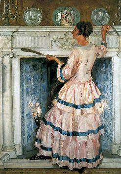 Mrs Kelsey in Pink | William Bruce Ellis Ranken | Oil Painting
